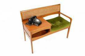 Vintage Telephone Bench Mid Century Modern Bench Plywood Chair All Modern Home Designs
