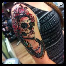 day of the dead macabre and symbolic inked cartel