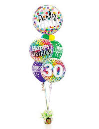 30th birthday balloons delivered happy 30th birthday balloon stand send birthday gifts to dubai