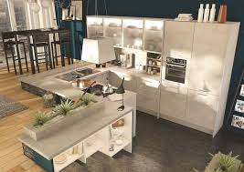ilot centrale de cuisine table ilot centrale cuisine lot central 12 photos de cuisinistes c t