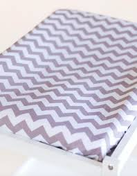 Change Table Mat Changing Table Mat Cover Grey Fawn Chevron Warblers