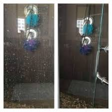 Remove Soap Scum From Glass Shower Doors Clean Your Shower Doors In Minutes With Essential Oils Soap Scum
