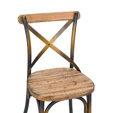 Osp Designs Antique Metal Chairs Osp Designs Bristow Stackable Armless Metal