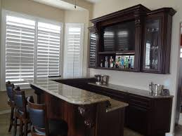 built in wine bar cabinets furniture large brown lacquered wooden built in wine bar cabinet