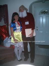 Halloween Dwarf Costume Coolest Homemade Snow White Doc Dwarf Couple Costume