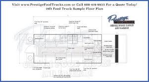 customizable floor plans custom food truck floor plan sles prestige custom food truck
