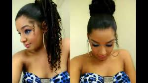 ponytail bun hairstyles women medium haircut