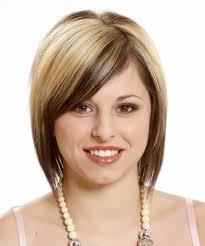 medium short hairstyle for fat faces women medium haircut