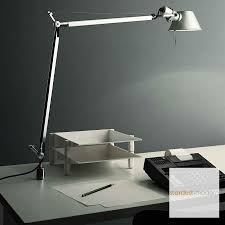 artemide le bureau artemide tolomeo table l with in set pivot stardust