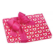 pink gift wrap gift wrap s day box and wrap
