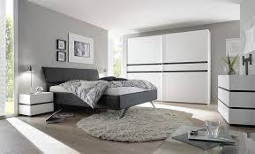 lit de chambre lit gris 2 places pour chambre à coucher design