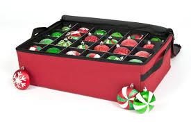christmas ornament storage treekeeper santa s bags premium christmas ornament storage reviews