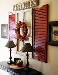 10 great ideas for decorating ideas for shutters shutter wall