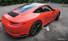 porsche 911 front view first impression review porsche 911 carrera s an accessible daily