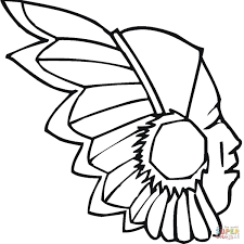 native american coloring pages printable elegant native american