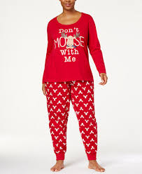 family pajamas s plus size moose pajama set created for