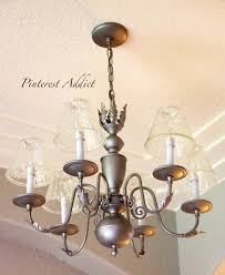 light fixture makeovers and replacements pinterest addict