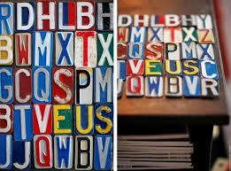 lettres d馗oratives cuisine kidimo des lettres déco vintage joli place