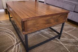 flip top coffee table how to make a coffee table with lift top easy woodworking projects