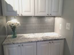 blue gray kitchen cabinets tables for white kitchens glass grey