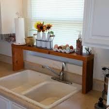 Shelf Over Kitchen Sink over the sink shelf from pallet wood sink shelf window shelves