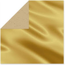 metallic foil kraft reversible wrapping paper roll 25