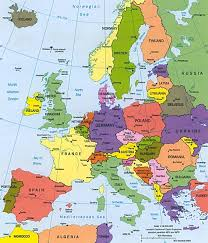 Country Map Of Europe by Treasure Hunts In Europe And European Countries Map Finder X