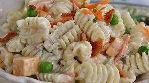 ranch bacon and parmesan pasta salad recipe allrecipes com