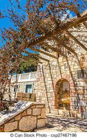 pergola balkon stockfotografien pergola balkon griechischer griechenland