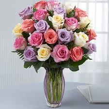 roses bouquet s day mixed bouquet vase included fleurs magique flowers