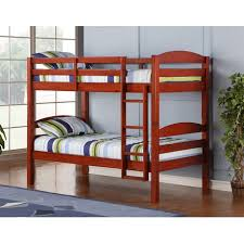 Twin Solid Wood Bunk Bed Cherry Walmart Canada - Solid wood bunk beds