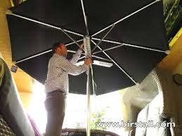 Parasol Electric Patio Heater Parasol Heater Youtube