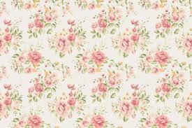 modern pink flower wallpaper vintage