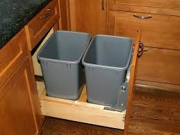 trash can cabinet insert trash can inserts for kitchen cabinets kitchen design ideas