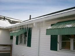 Awning Problems Gutter Guards Icing Problems Roofing Contractor Talk
