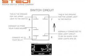 wiring diagram for narva rocker switch wiring diagram