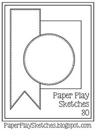 paper play sketches challenge blog link up every other wednesday