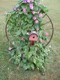 Garden Diy Crafts - 21 awesomely creative diy crafts re purposing bike rims
