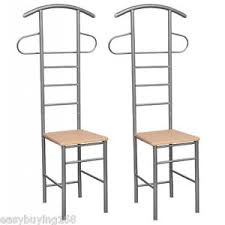 stuhl für schlafzimmer modern hellbraun herrendiener stuhl 2 stück stummer diener für