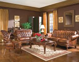 Modern Leather Living Room Furniture Living Room Decorating Ideas With Brown Leather Furniture Home