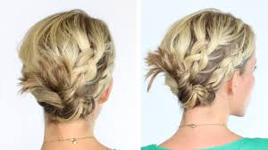 medium length hairstyles with braids braided twist for medium length hair preview youtube