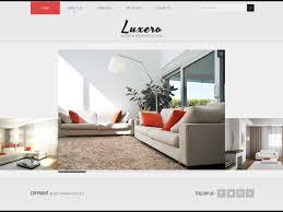 website design 39322 luxero interior design custom website design