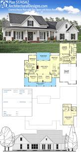 ranch floor plans with bonus room plan 51762hz budget friendly