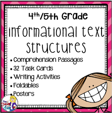 teaching informational text structures