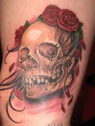 skull and roses tattoos designs ideas find tattoo ideas