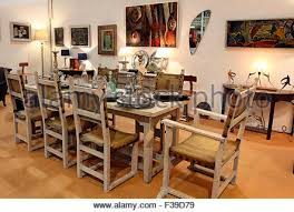 Limed Oak Dining Tables Antique Oak Table And Chairs In Red Country Dining Room With Brick