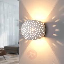 pattern wall lights jiru plaster wall l with pretty perforation lights co uk
