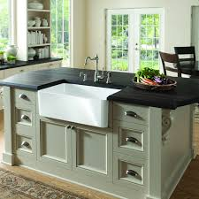 Traditional Kitchen Island Bathroom Exciting Kitchen Island With Black Countertop And