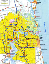 Highway Map Usa by Highways Map Of Jacksonville Cityfree Maps Of Us
