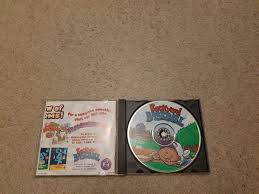 backyard baseball jewel case windows mac 1999 ebay